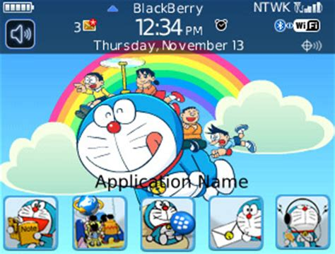 themes app lock doraemon doraemon blackberry themes free download blackberry apps