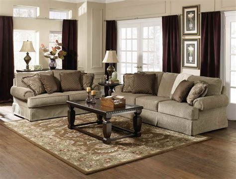 Living Room Furniture by Living Room Cozy Look Of A Traditional Living Room