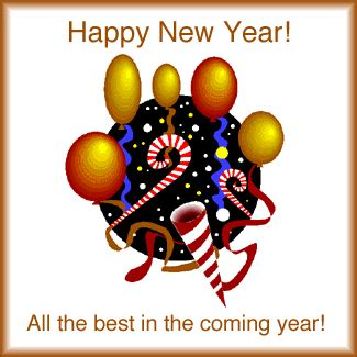 happy new year all the best in the coming year
