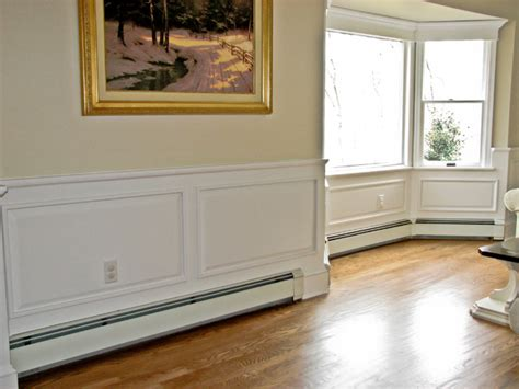 New Classic Wainscoting by Classic Colonial Raised Panel Wainscoting Traditional