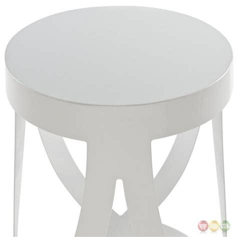 bar stool aluminum ribbon modernistic aluminum bar stool white