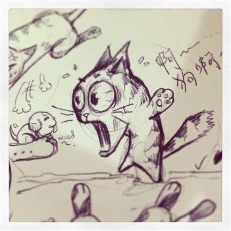 doodle sloth pin by slothstudio on slothstudio