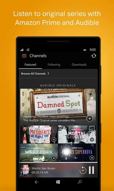 audible mobile store app get audiobooks from audible microsoft store