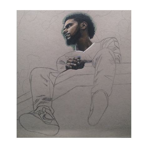 J Cole Sketches by J Cole 2014 Forest Drive Wip 1 By Wega13 On Deviantart