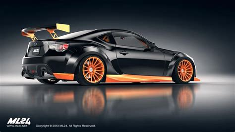 subaru brz custom body kit brz ps garage