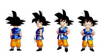 kid goku gt colored ninja pineapple deviantart
