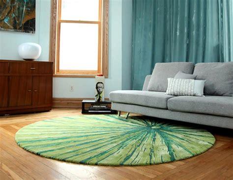 tapis rond de salon tapis de sol design pour une d 233 co unique design feria