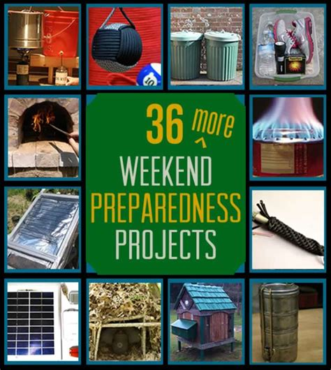 36 more weekend preparedness projects survival