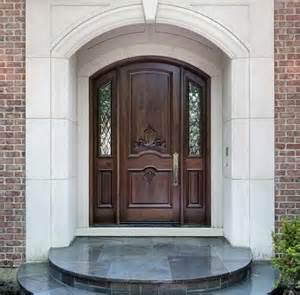 Entrance Doors Furniture Jeld Wen Exterior Doors With Dark Varnished
