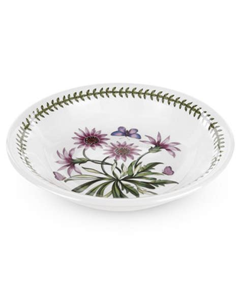 Portmeirion Botanic Garden Dinnerware Portmeirion Dinnerware Botanic Garden Pasta Bowl Dinnerware Dining Entertaining Macy S