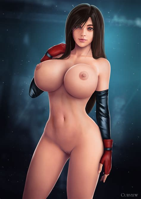 Tifa Lockhart Nude By Curview Hentai Foundry