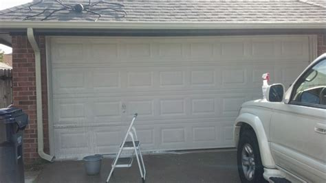 How To Stain A Metal Garage Door by Fix Lovely How To Stain Your Garage Door To Look Like Wood