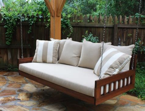 hanging sofa bed 39 relaxing outdoor hanging beds for your home digsdigs