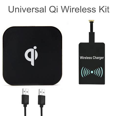 New Qi Wireless Charging Pad Universal Kotak universal qi wireless charging kit charger wireless pad receiver for samsung s6 s7 s7 edge lg