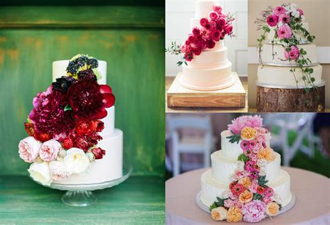 Wedding Cake Fresh Flowers by Wedding Cakes With Flowers Our Fave Styles Top Tips