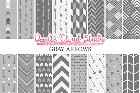 grey arrow pattern gray arrows digital paper grey arrow patterns tribal