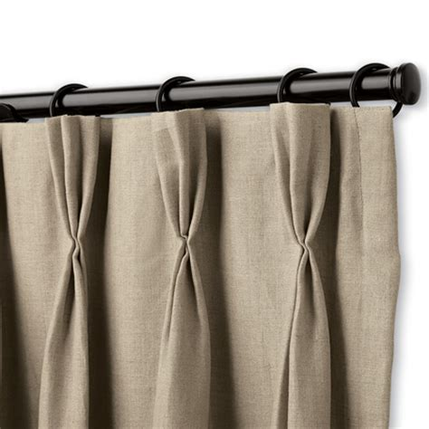 how to measure for pleated drapes pinch pleat drapery