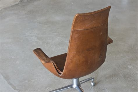 vintage leather desk chair high back leather vintage armchair