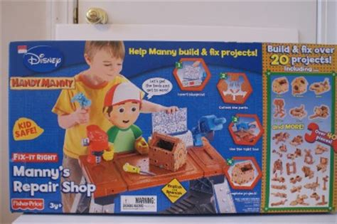 handy manny work bench new fisher price disney handy manny repair work bench