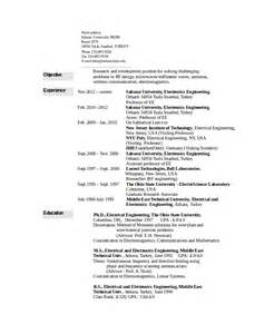 engineering student resume sles engineering student resume format 28 images year