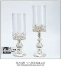 Candelabra Glass Candle Holders Farolillos Decoration A Set 2piece Glass Candle Holders