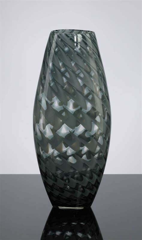 decorative glass vases large light green glass vase by cyan design