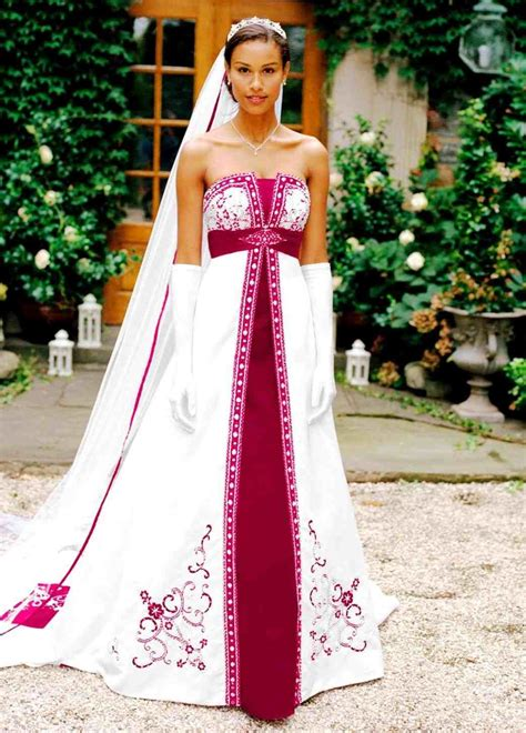 wedding dress with color wedding dresses with color in striking s shop gorgeous