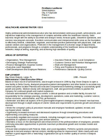 Words For Ceo Resume Ceo Resume Sle 6 Exles In Word Pdf
