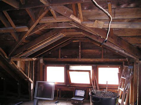 house attic 1914 foursquare attic demo