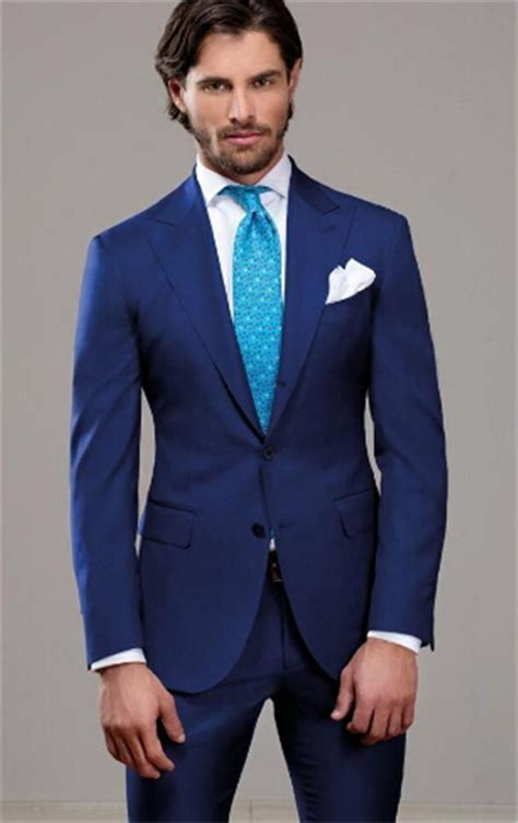 2016 royal suit two buttons groom best man