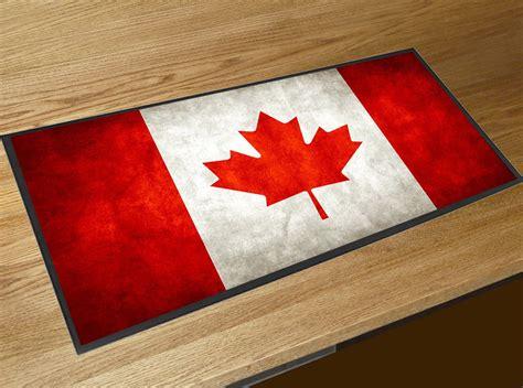 Bar Runner Mat by Canadian Flag Bar Runner Mat