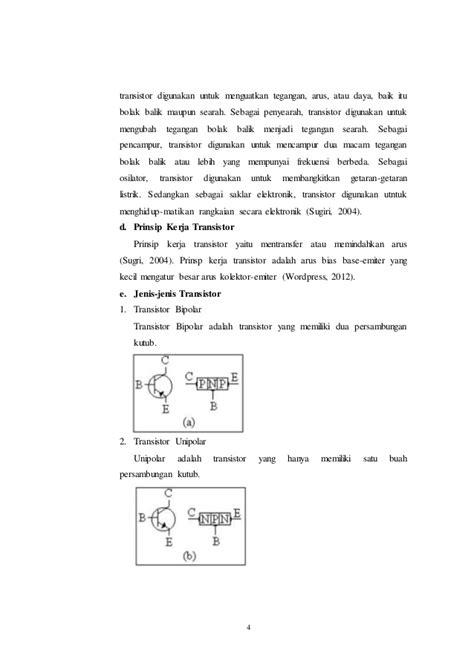 makalah transistor sebagai saklar 2010 makalah transistor sebagai saklar 28 images makalah transistor makalah catu daya tugas