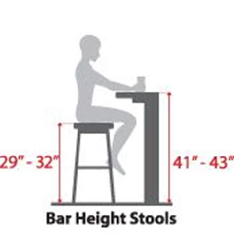 bar stool height chart bar stool height chart bar height and counter height