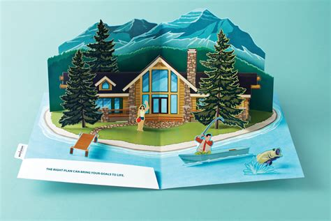 Google House Design envision financial print advert by mccann pop up island