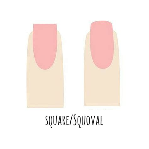 You Nails by What Shape Are You Nail Shapes The Daily Details