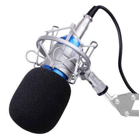 Tiang Mic Mik Microphone Stand Mic Mik Microphone 2 bm800 bm700 condenser microphone shock holder vocal mic home studio sound record ebay
