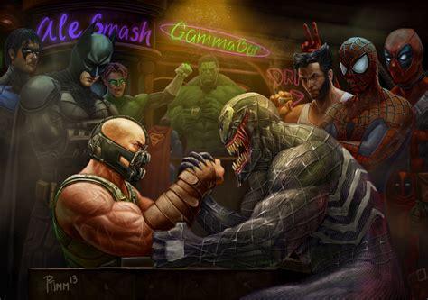 Addict Detox Dc by Dc Vs Marvel Bar Fight Page 2 Sports Hip Hop