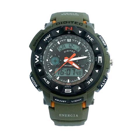 Jam Tangan Jeep Hijau harga jam tangan shield original s1505 dualtime black