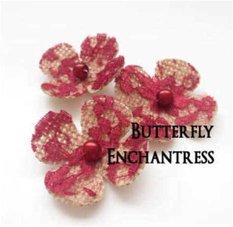 Wedding Hair Accessories Burgundy by Bridal Hair Accessories Burgundy Wedding Hair Flowers 3