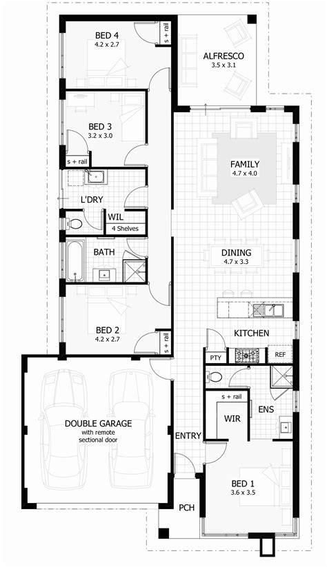 floor plans for narrow lots gallery of floor plans for narrow lots fabulous homes