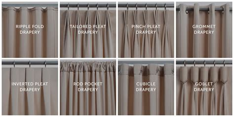different drapery styles pinch pleat curtain styles curtain menzilperde net