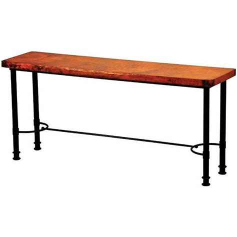 copper collection patti console table con 80