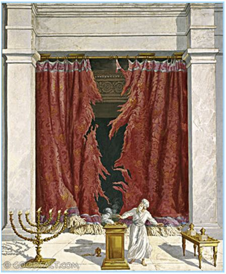 tearing of the curtain in the temple the temple veil was torn in two when jesus died wake up