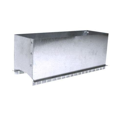 10 X 4 X 4 Box - 10 in x 4 in register box saddle rbs10x4 the home depot