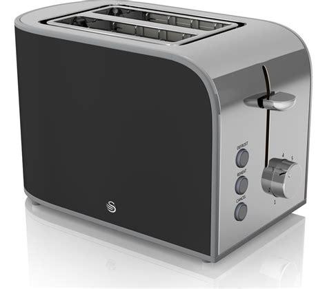 Black Retro Toaster Buy Swan Retro St17020bn 2 Slice Toaster Black Free