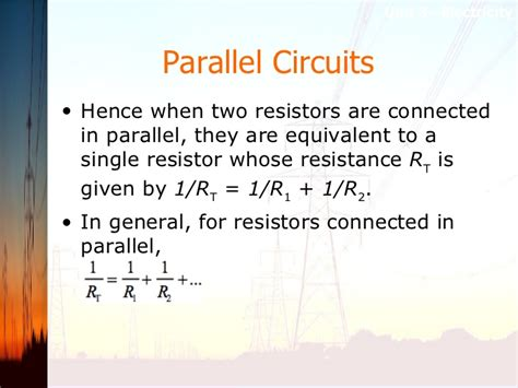 when resistors are connected in parallel with each other their overall resistance is when resistors are connected in parallel in a circuit what are the relationships 28 images