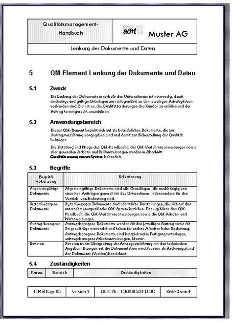 Word Vorlage Arbeitsanweisung Ad T Ag Ch 8340 Hinwil Dokumentenverwaltung Iso9000