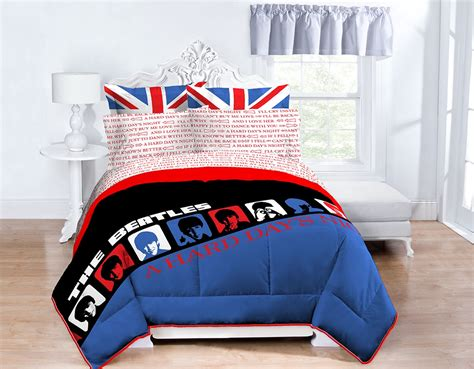 beatles comforter set beatles for the bedroom home beatles fab four store