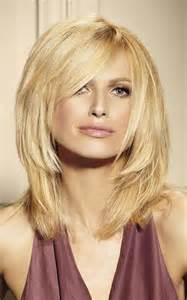 shoulder length hair for with pear shaped faces choppy haircuts based on face shape