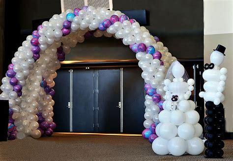 balloon arches for weddings wedding balloon decorations